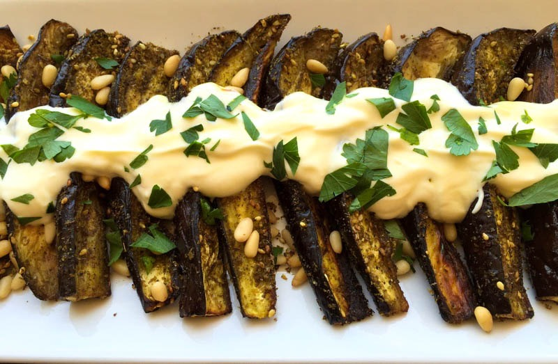 Roasted Eggplant with Zaatar 01f88169530a77b40b38c340f70682367a8a3efd61