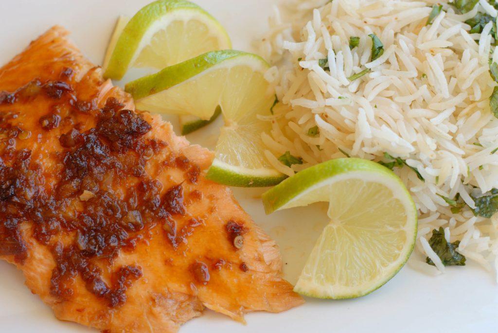 Soy Ginger Glazed Salmon NZN_0606