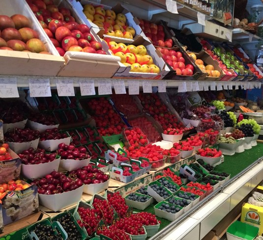 Farmer's Market Fruits in San Diego Photo